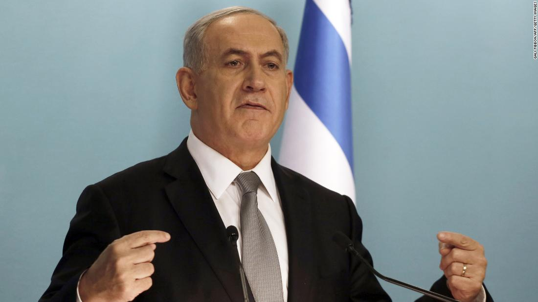 In December, Netanyahu called for early elections as he fired two key ministers for opposing government policy.