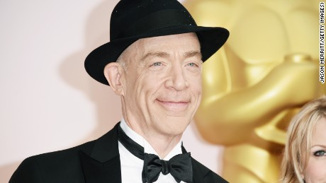 HOLLYWOOD, CA - FEBRUARY 22: Actor J.K. Simmons attends the 87th Annual Academy Awards at Hollywood & Highland Center on February 22, 2015 in Hollywood, California. (Photo by Jason Merritt/Getty Images)
