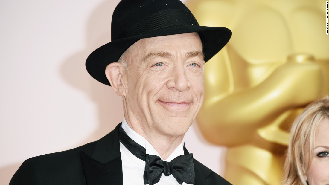 "Oscar winner J.K. Simmons' over-the-top performance as J. Jonah Jameson in the original ""Spider-Man"" trilogy endeared him in the hearts of comic book fans. He will return to that world starting in 2017 as Batman's ally Commissioner Gordon in the two-part ""Justice League"" movies."