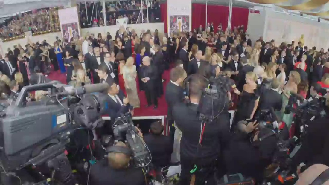 The Oscars' red carpet in 60 seconds