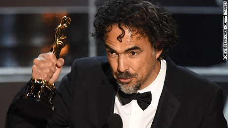 Mexican director Alejandro Gonzalez Iñarritu said he thought Sean Penn's joke about his green card was hilarious. Some on social media didn't find it funny.