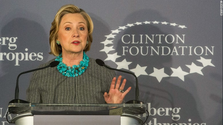 Clinton Foundation's perception problem
