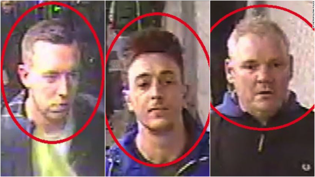 UK police identify three men involved in Chelsea racism storm