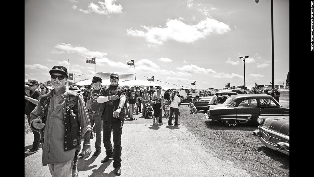 A view of the car show grounds. Every year the show sees an increase in attendance.