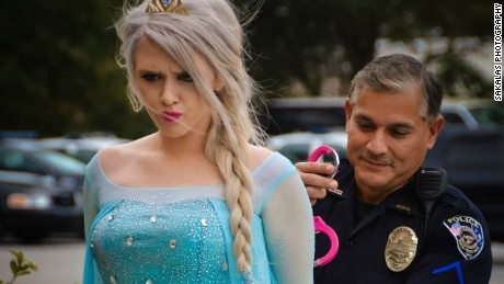 """Elsa"" arrested for cold weather"