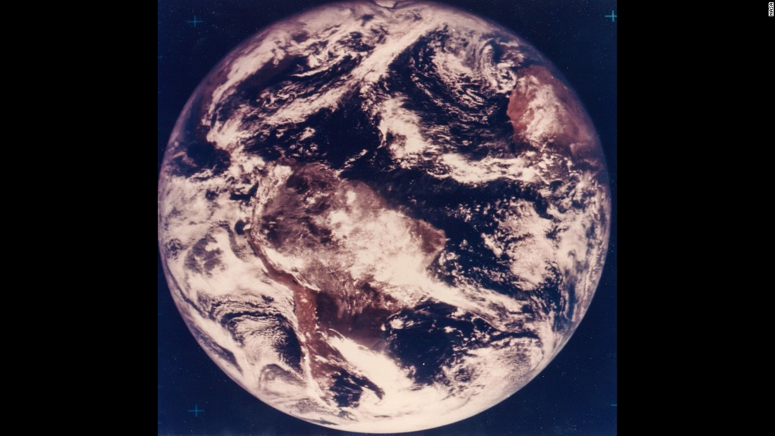 The first color photograph of Earth was captured on November 10, 1967, five years before the astronauts of Apollo 17 could witness it with their own eyes.