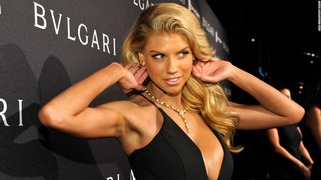 "Model Charlotte McKinney, 21, has already wowed the Internet (the girl-crazed section anyway)  with her Super Bowl ""au naturel"" Carl's Jr. advertisement. She's also modeled for Guess."