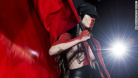 This season marked Gareth Pugh's return to the London catwalks following seven years showing in Paris.
