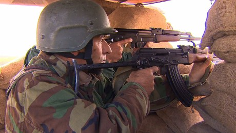 Peshmerga: ISIS 'can't overcome us'
