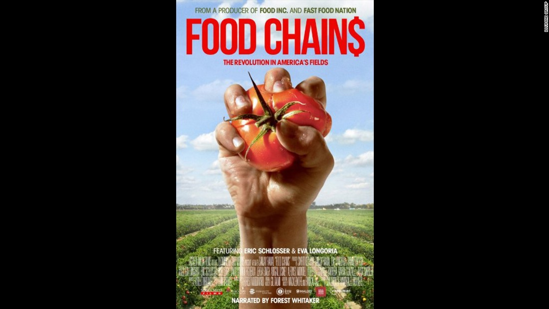 "<strong>""Food Chains"" (2014)</strong> - This documentary exposes the living conditions of migrant farm workers who pick fruits and vegetables. <strong>(Netflix) </strong>"