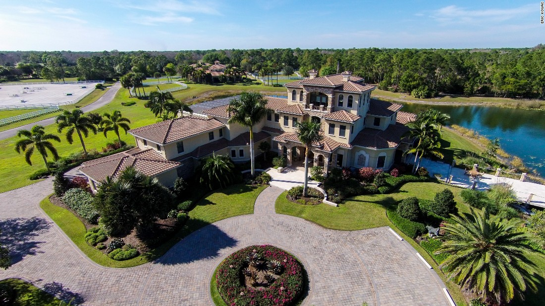Welcome to the $22.9m equestrian estate. Saddle up, let's take a look around ...