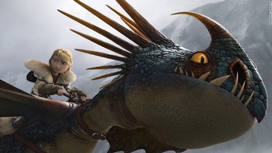 """How to Train Your Dragon 2"" (2014) : The sequel to the successful 2010 movie has Hiccup and Toothless discovering an ice cave. <strong>(Netflix) </strong>"