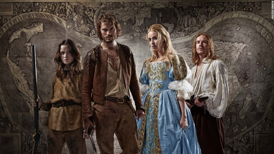"<strong>""New Worlds""  (2014)</strong> : ""Fifty Shades of Grey"" star Jamie Dornan appears in this lavishly produced miniseries set in England and America during the 1680s. <strong>(Acorn)</strong>"