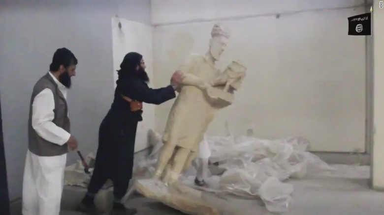isis destroys iraq mosul artifacts_00002819
