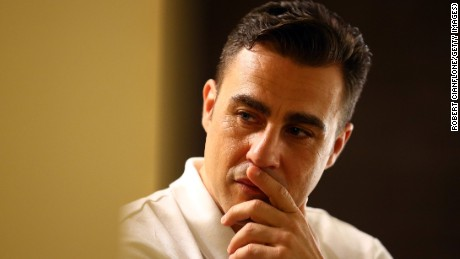 Fabio Cannavaro, seen prior to a press conference for the Global Legends Series in Bangkok in December 2014, has been handed a custodial sentence for breaking into his Naples property.