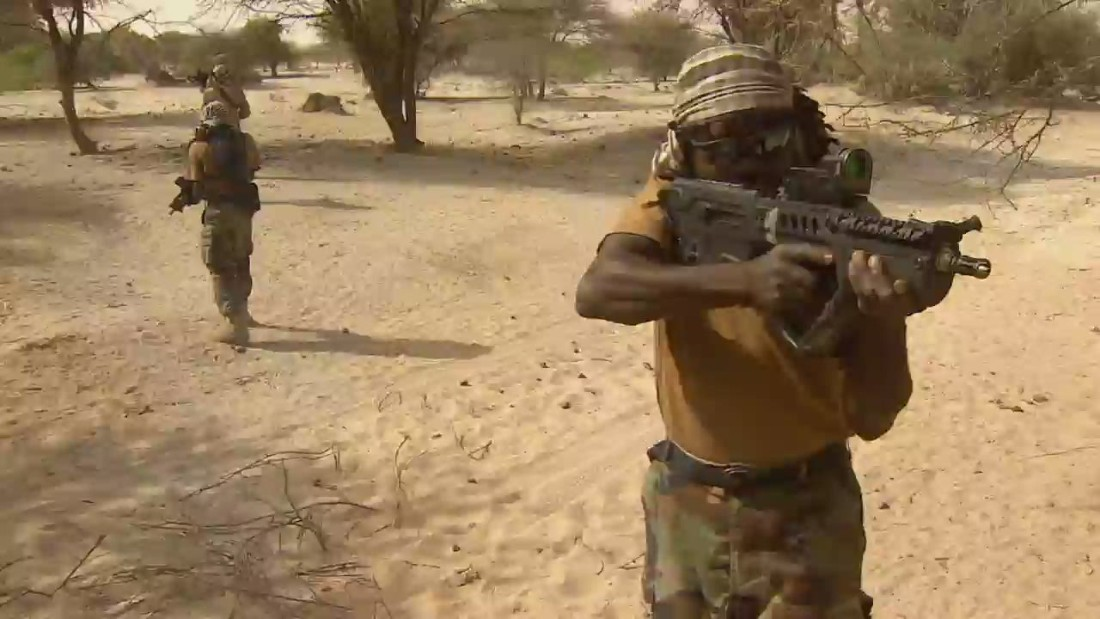 Nigerian Special Forces modelled on the Navy Seals - CNN Video  Nigerian Army Special Forces