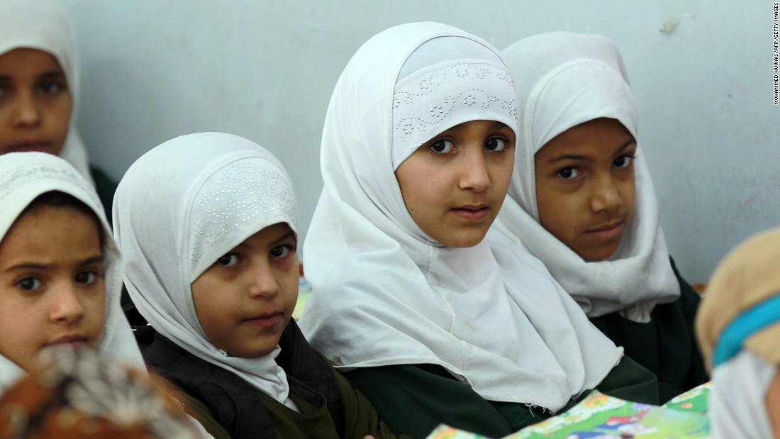 "FEBRUARY 26 - SANAA, YEMEN: Schoolgirls attend a class as efforts are made to <a href=""http://www.ye.undp.org/content/yemen/en/home/mdgoverview/overview/mdg2/"" target=""_blank"">improve access to education in the country, particularly for girls</a>. 2015 has been declared by the Yemeni <a href=""http://www.yementimes.com/en/1850/report/4800/2015-Education-Year-Challenges-ahead.htm"" target=""_blank"">Prime Minister Khaled Bahah as the ""Education Year,"" </a>despite the financial and political challenges faced. <a href=""http://www.unicef.org/appeals/yemen.html#sthash.4q6kA2De.dpuf"" target=""_blank"">UNICEF claims to have reached 193,000 children last year</a> with interventions to improve their learning environment."