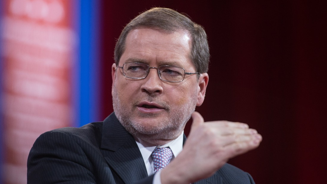 Grover Norquist, founder and president of Americans for Tax Reform, participates in a session on 'Strategic Communication.'