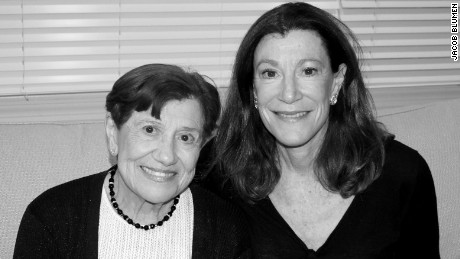 Bonnie Adler (right) and her mother