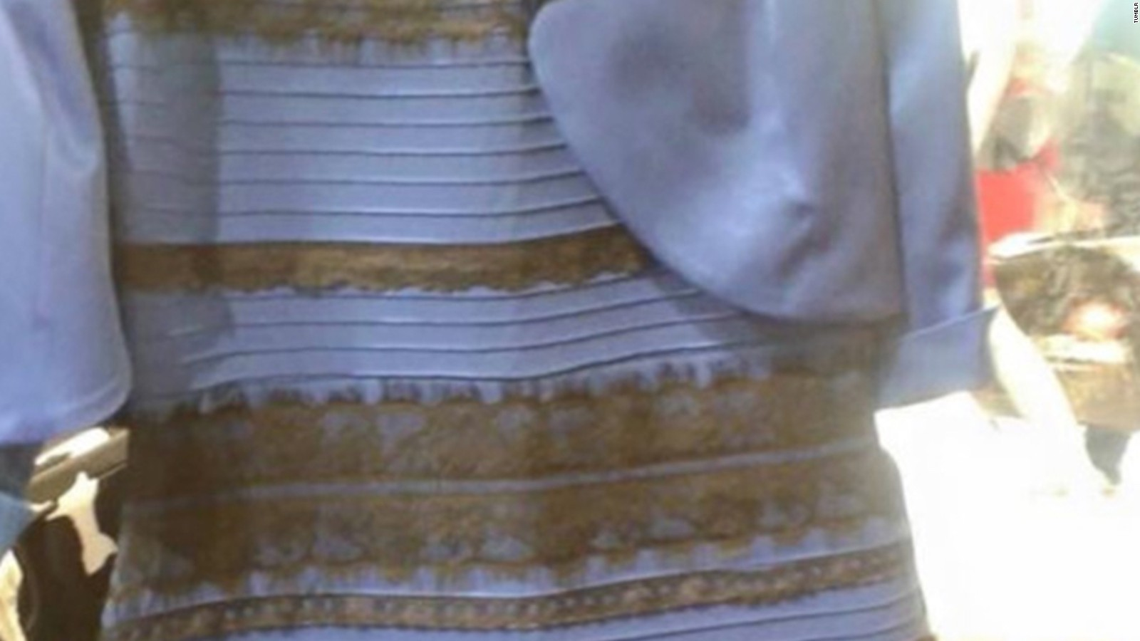 The white and gold or blue and black dress