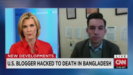 U.S. Blogger Hacked To Death in Bangladesh _00003110
