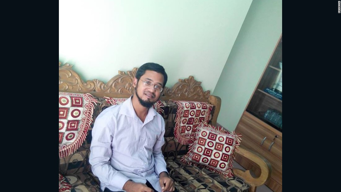 The suspect, Farabi Shaifur Rahman, had called for Roy's death in numerous Facebook posts.