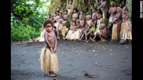 VANUATU: A little girl takes the spotlight as local villagers gather with their chief, near a giant banyan tree in Yakel Village on Tanna Island. Photo by CNN's Bill Weir. Follow @billweircnn and other CNNers on the @cnnscenes gallery on Instagram for more images you don't always see on news reports from our teams around the world.