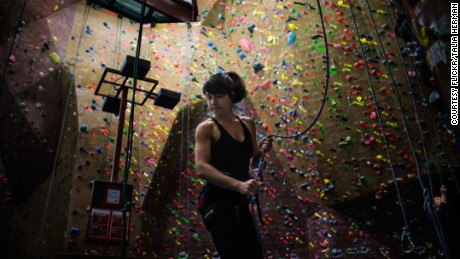 Google's Security Princess, Parisa Tabriz, is a keen rock climber. Much like hacking, she says the sport is all about finding pathways in the system.