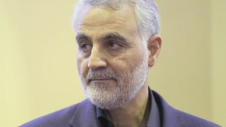 Qasem Soleimani the commander of the IRGC's Quds Force