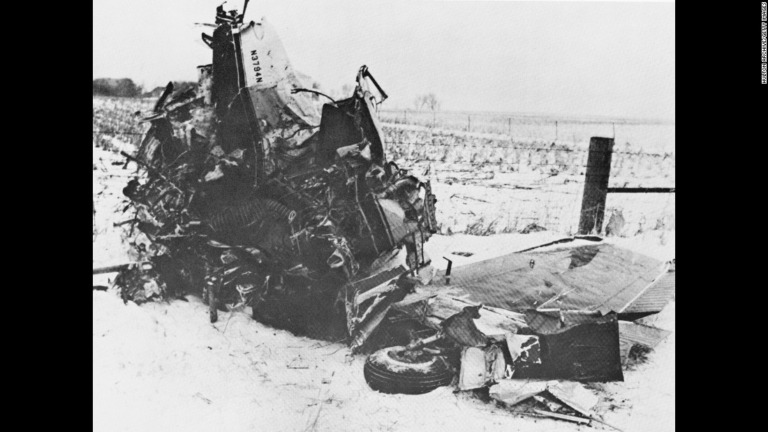 "Holly, Ritchie Valens, J.P. ""The Big Bopper"" Richardson and pilot Roger Peterson all died in the crash, which was blamed on poor weather and possible pilot error. It was snowing that night, with high winds and poor visibility."