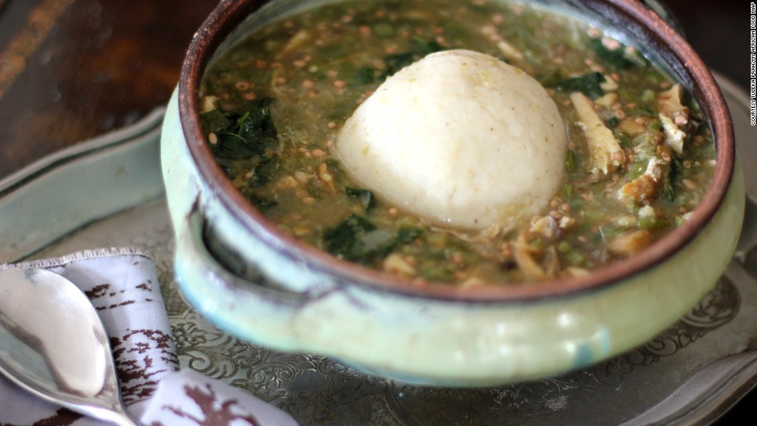 "Tuleka Prah travels around Africa documenting popular dishes for her <a href=""http://www.africanfoodmap.com/"" target=""_blank"">blog, The African Food Map</a>."