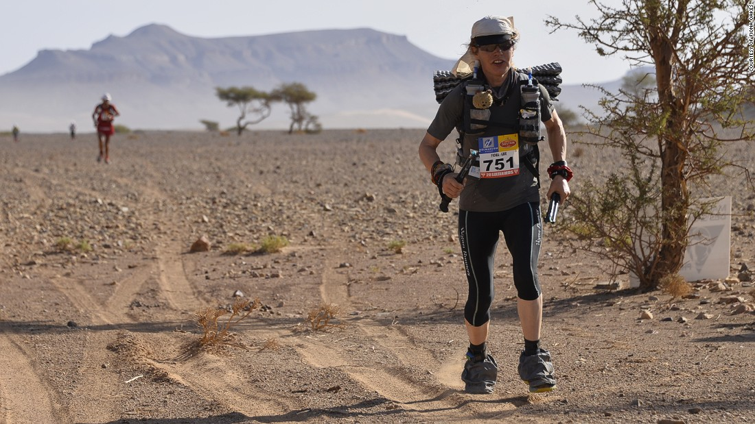 "From the sweltering heat of the Sahara Desert to the subzero temperatures at both North and South Poles, Fiona Oakes' running obsession knows no bounds. <a href=""/2015/03/04/sport/fiona-oakes-extreme-marathon-runner/index.html"" target=""_blank"">Read more</a>"