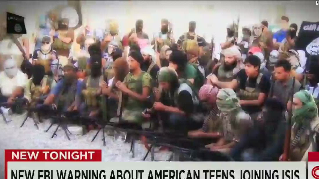Law enforcement warning sent about American youth, ISIS