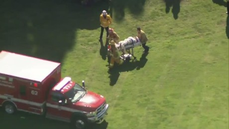 cnnee harrison ford video stretcher _00010820