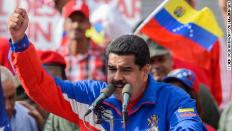 Venezuelan President Nicolas Maduro says his country's top diplomat in the United States will come home.