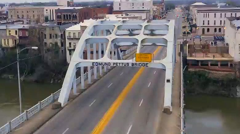 Historical Selma bridge is civil rights landmark