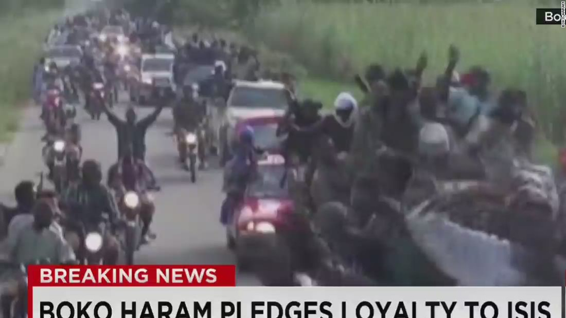 Boko Haram purportedly pledges allegiance to ISIS