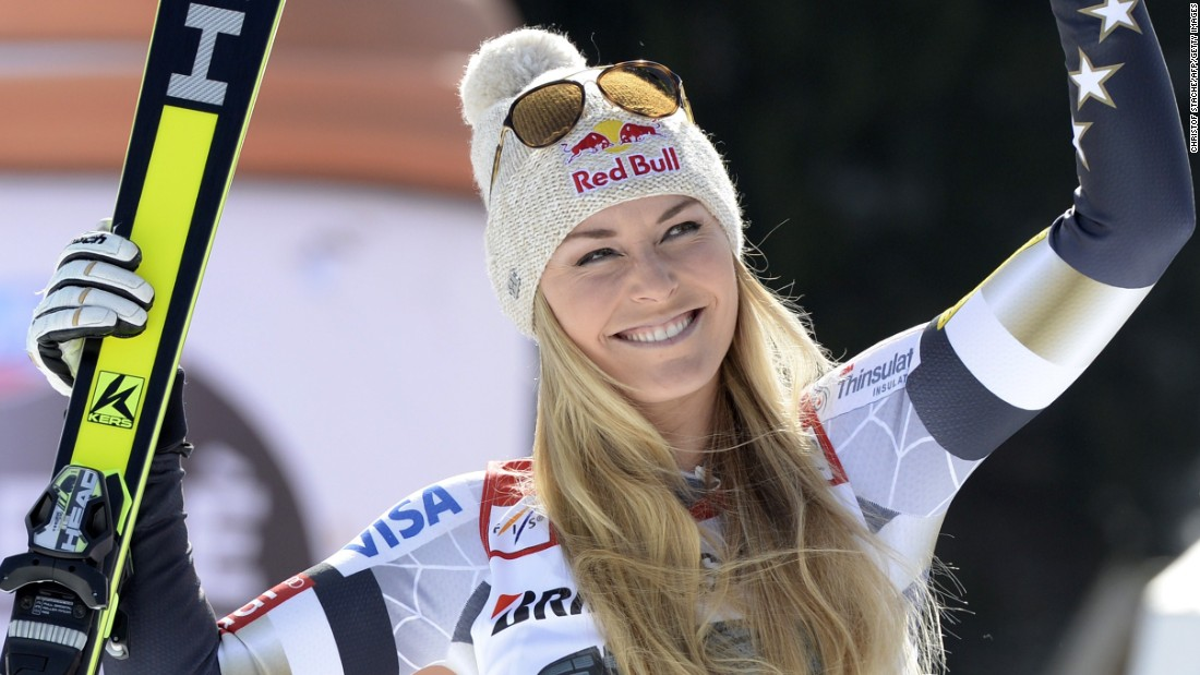 "The two attracted attention wherever they went but their hectic schedules meant that the relationship fizzled out after three years. ""I'm enjoying just kind of focusing on myself right now,"" said Vonn."