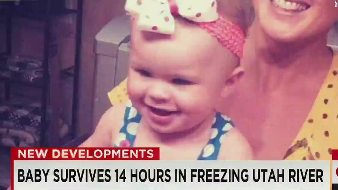 Baby who survived car crash in Utah river is getting better