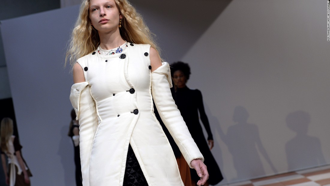 This collection was designer Phoebe Philo's version of glamor, femininity and sensuality.