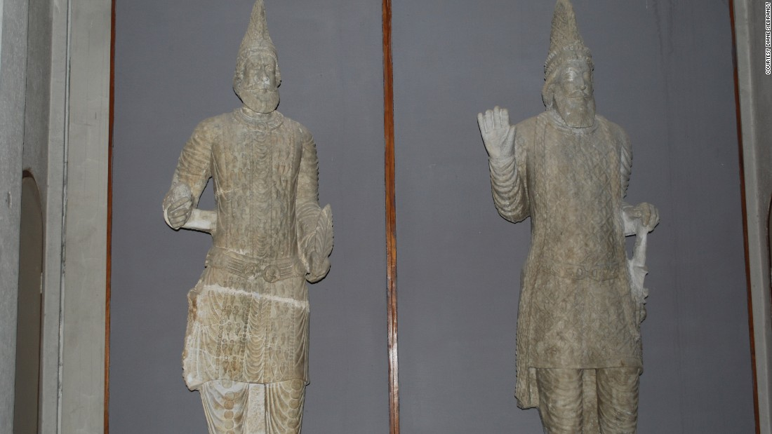 Two Parthian Kings of Hatra, seen in the Mosul museum in 2008
