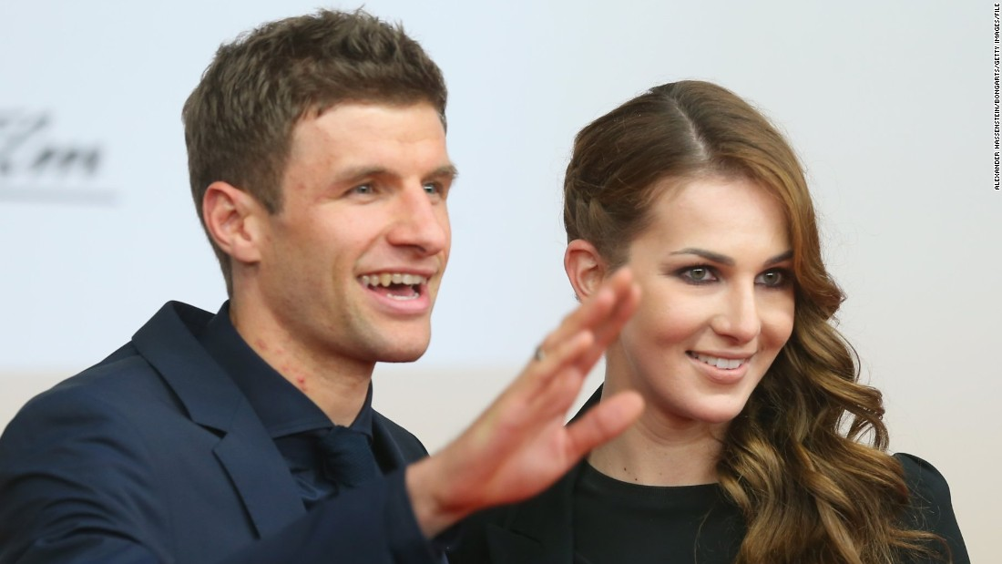 Thomas Muller is a recognizable face the world over thanks to his soccer exploits with German champions Bayern Munich and Germany's national team, but his wife Lisa has her own designs on conquering the sport she loves -- dressage.
