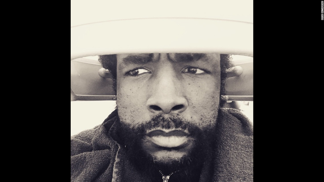 "Questlove, the drummer for The Roots, <a href=""https://instagram.com/p/0BN6OFwa43/?modal=true"" target=""_blank"">takes a selfie</a> while in a hair dryer on Monday, March 9. The caption: ""... when ConEd tells your hair jawn they about to cut to whole block's electric supply off in 10 or 15...."""
