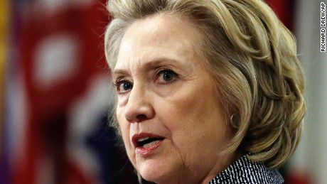 Hillary Rodham Clinton answers questions at a news conference at the United Nations, Tuesday, March 10, 2015.