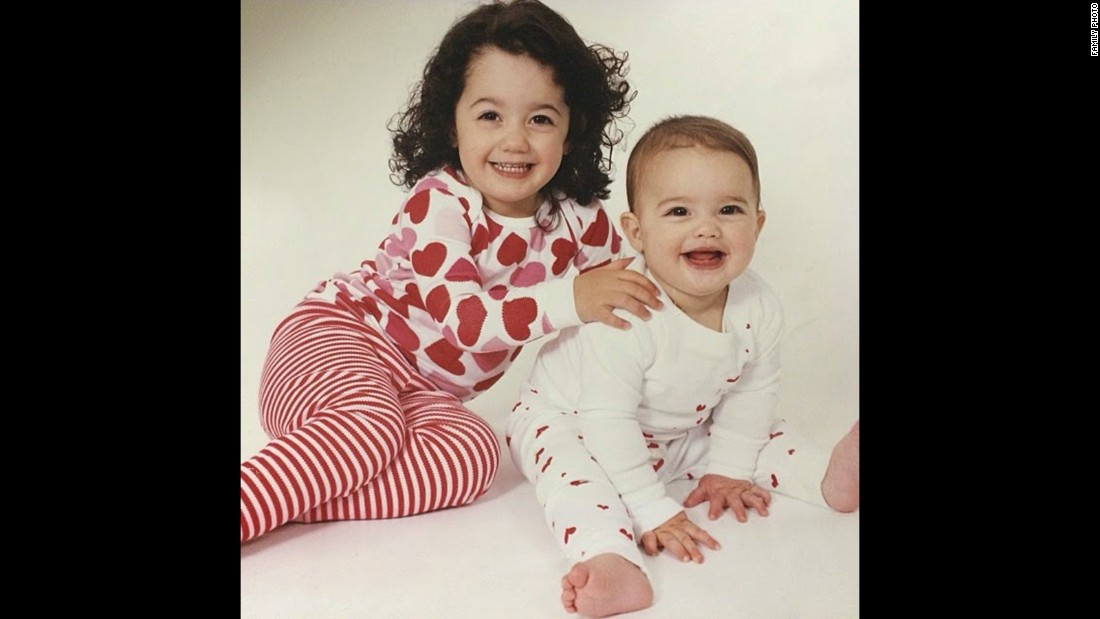 Avery Wallace, shown at age 3, poses for a picture with sister Riley in 2002. Avery says he knew he was a boy when he was just 2.