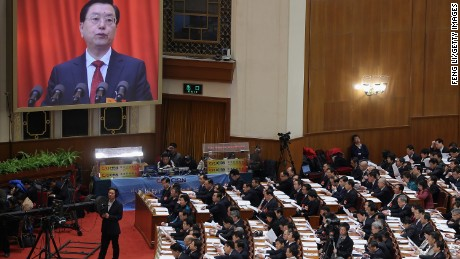 China's parliament 'full of ultra rich'