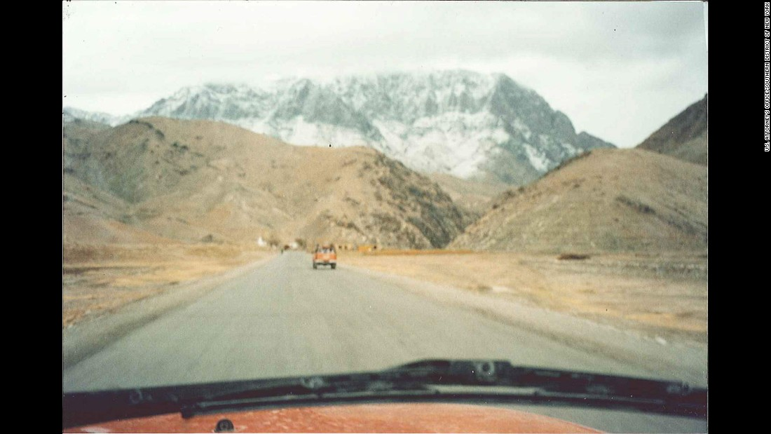 The Tora Bora settlement and cave complex was above the snow line in winter.