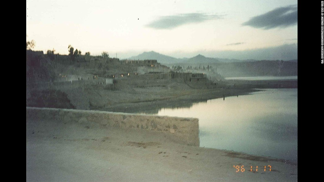 A view of the lake outside Tora Bora.