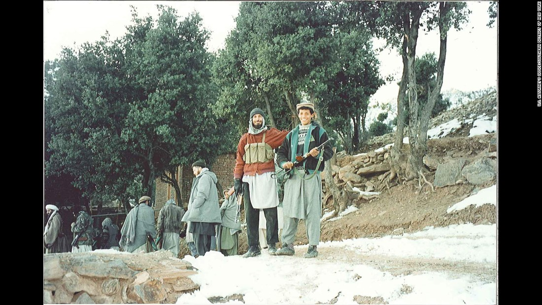 In addition to bin Laden's wives and children, dozens of al Qaeda fighters also spent time with bin Laden in the mountainous retreat.