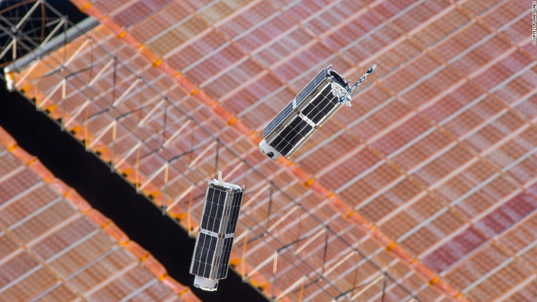 Planet Labs have plans to bring their constellation up to around 120 Doves.